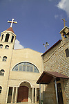 Israel, Lower Galilee, the Greek Catholic Church at Deir Hanna