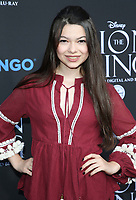 "05 August 2017 - Los Angeles, California - Nikki Hahn. ""The Lion King"" Sing-Along Screening. Photo Credit: F. Sadou/AdMedia"