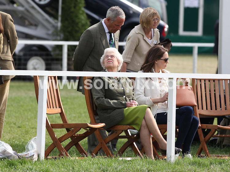 **ALL ROUND PICTURES FROM SOLARPIX.COM**                                             **WORLDWIDE SYNDICATION RIGHTS**                                                                                  Caption:  Royals attend  day two of Windsor horse show                                                                              in Windsor UK.This pic: Queen Elizabeth II                                                                                         JOB REF: 13335       EBR       DATE: 13.05.2011                                                           **MUST CREDIT SOLARPIX.COM OR DOUBLE FEE WILL BE CHARGED**                                                                      **MUST AGREE FEE BEFORE ONLINE USAGE**                               **CALL US ON: +34 952 811 768 or LOW RATE FROM UK 0844 617 7637**
