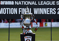 The National League South Play off trophy after Ebbsfleet United vs Chelmsford City, Vanarama National League South Play-Off Final Football at The PHB Stadium on 13th May 2017
