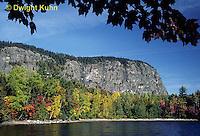 KN01-005d  Mt. Kineo on Moosehead Lake, Maine