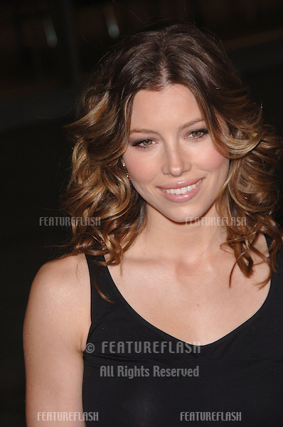 "JESSICA BIEL at the Los Angeles premiere of her new movie ""London""..February 6, 2006  Los Angeles, CA..© 2006 Paul Smith / Featureflash"
