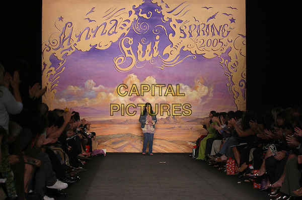 ANNA SUI.in Anna Sui Fashion Show (Spring 2005).*Editorial Use Only*.www.capitalpictures.com.sales@capitalpictures.com.Supplied by Capital Pictures.