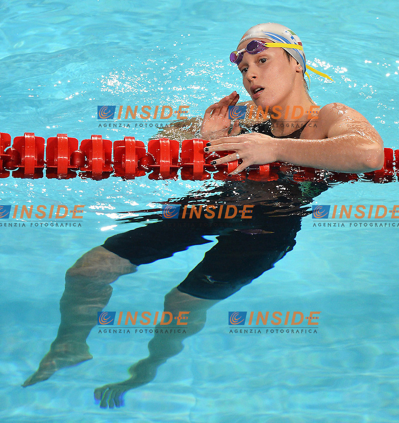 Federica Pellegrini Italia Women's 4x100 Medley relay .Istanbul 14/12/2012 Sinan Erdem Dome.World Swimming Championships Short course 25m Nuoto Istanbul.Foto Andrea Staccioli Insidefoto