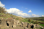 Deir Aziz ancient Synagogue in the Golan Heights
