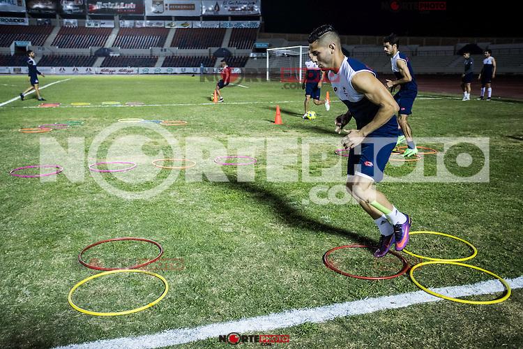 Entrenamiento Cimarrones AscenxoMx2017.<br /> 2marzo2017<br /> Luis Gutierrez/NortePhoto.com