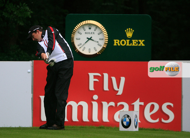 Peter Lawrie (IRL) tees off on the 7th tee during Day 1 of the BMW International Open at Golf Club Munchen Eichenried, Germany, 23rd June 2011 (Photo Eoin Clarke/www.golffile.ie)