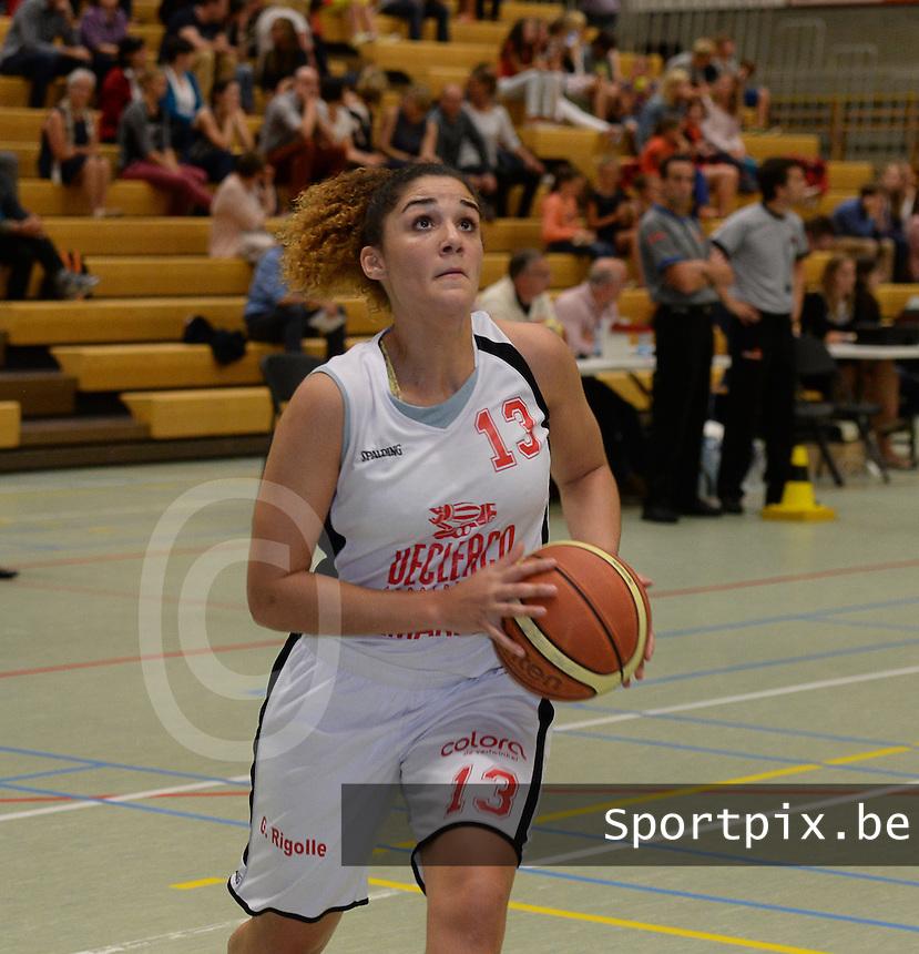 DBC Waregem : Lara Gaspar <br /> foto VDB / BART VANDENBROUCKE