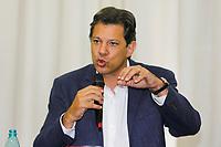 CURITIBA, PR, 08.10.2018 – ELEIÇÕES-2018 – O candidato à Presidência da República, Fernando Haddad (PT), durante coletiva de imprensa no hotel Dan Inn em Curitiba (PR) na tarde desta segunda-feira (08).(Foto: Paulo Lisboa/Brazil Photo Press)