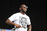 Tinie Tempah on Day 1 of the Oxegen Festival, Punchestown, Co.Kildare...(Photo credit should read Jenny Matthews www.newsfile.ie)....This Picture has been sent you under the conditions enclosed by:.Newsfile Ltd..The Studio,.Millmount Abbey,.Drogheda,.Co Meath..Ireland..Tel: +353(0)41-9871240.Fax: +353(0)41-9871260.GSM: +353(0)86-2500958.email: pictures@newsfile.ie.www.newsfile.ie.