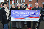 Drogheda and District support for older people pictured at the march against the closure of the Cottage Hospital. Photo: Colin Bell/pressphotos.ie