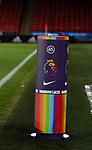 Rainbow Laces ball podium during the Premier League match at Bramall Lane, Sheffield. Picture date: 5th December 2019. Picture credit should read: Simon Bellis/Sportimage