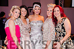At the KFW Irish Fashion Industry Awards at the Europe Hotel, Killarney on Friday night were l-r: Elaine Kelleher, Tina Griffin, Carol Kennelly, Mary Stapleton Foley and Joann Murphy.
