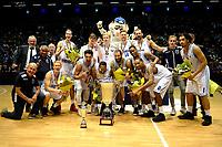 GRONINGEN - Basketbal, Donar - ZZ Leiden, Supersup, seizoen 2018-2019, 06-10-2018,  Donar winnaar van de supercup