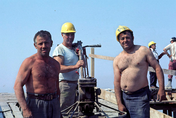 Portrait of Iron Workers on WTC