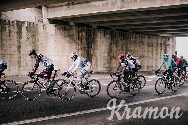 Alexander Kristoff (NOR/Katusha) under the bridge<br /> <br /> 109th Milano-Sanremo 2018<br /> Milano > Sanremo (291km)