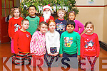 CHRISTMAS PLAY: Pupils preparing for the Presentation Primary school play on Tuesday, front l-r: Jason Casey, Saoirse Doyle, Eve Hennessy, Aditya Shet and Kayleigh Sheridan. Back l-r:  Emma Cluskey, Biye Guo, Ailisha Daughton, Alex Clifford and Jing Wen Lin.