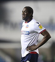 Bolton Wanderers' Clayton Donaldson<br /> <br /> Photographer Rob Newell/CameraSport<br /> <br /> The EFL Sky Bet Championship - Millwall v Bolton Wanderers - Saturday 24th November 2018 - The Den - London<br /> <br /> World Copyright © 2018 CameraSport. All rights reserved. 43 Linden Ave. Countesthorpe. Leicester. England. LE8 5PG - Tel: +44 (0) 116 277 4147 - admin@camerasport.com - www.camerasport.com