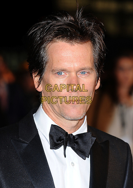 "KEVIN BACON .attending The World Premiere of .""Frost/Nixon"" during The Times BFI 52nd London Film Festival, Odeon Leicester Square, London, England, UK,.15th October 2008.portrait headshot black bow tie .CAP/BEL.©Tom Belcher/Capital Pictures"