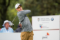Dylan Frittelli (RSA) during the 1st round of the BMW SA Open hosted by the City of Ekurhulemi, Gauteng, South Africa. 11/01/2018<br />