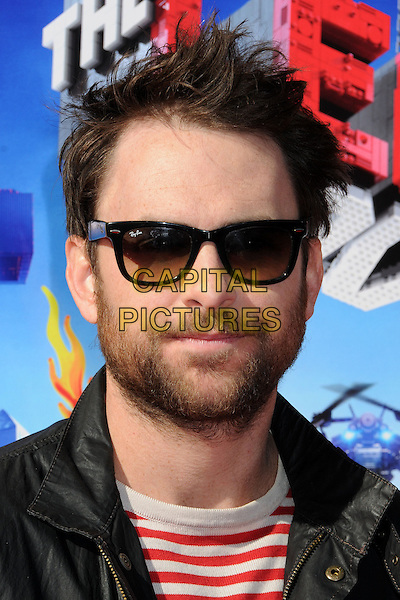 1 February 2014 - Westwood, California - Charlie Day. &quot;The Lego Movie&quot; Los Angeles Premiere held at the Regency Village Theater.  <br /> CAP/ADM/BP<br /> &copy;Byron Purvis/AdMedia/Capital Pictures