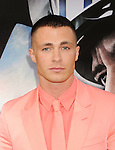 HOLLYWOOD, CA - MAY 26: Actor Colton Haynes arrives at the 'San Andreas' - Los Angeles Premiere at TCL Chinese Theatre IMAX on May 26, 2015 in Hollywood, California.