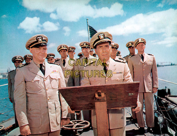 The Caine Mutiny (1954) <br /> Humphrey Bogart, Van Johnson, Fred MacMurray, Tom Tully<br /> *Filmstill - Editorial Use Only*<br /> CAP/KFS<br /> Image supplied by Capital Pictures