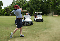 Tuesday, June 23, 2020, during the pro-am round of the Cooper Northwest Arkansas Charity Classic golf tournament at Bella Vista Country Club. Go to nwaonline.com/200624Daily/ to see more photos.<br /> (NWA Democrat-Gazette/Ben Goff)