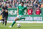 13.04.2019, Weser Stadion, Bremen, GER, 1.FBL, Werder Bremen vs SC Freiburg, <br /> <br /> DFL REGULATIONS PROHIBIT ANY USE OF PHOTOGRAPHS AS IMAGE SEQUENCES AND/OR QUASI-VIDEO.<br /> <br />  im Bild<br /> Claudio Pizarro (Werder Bremen #04)<br /> <br /> <br /> Foto &copy; nordphoto / Kokenge