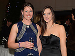 Nicola Ennis and Liz Keegan pictured at the Fingal Harriers Hunt Ball held in the d hotel Drogheda. Photo:Colin Bell/pressphotos.ie