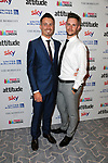 Ben Smith, Oly Sibley at  the Attitude Pride awards Berkeley, London