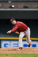 Arizona Diamondbacks pitcher Steve Hathaway (15) during an instructional league game against the San Francisco Giants on October 16, 2015 at the Chase Field in Phoenix, Arizona.  (Mike Janes/Four Seam Images)