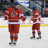 Andrej Nestrasil (Czech Republic - 27) - Sweden defeated the Czech Republic 4-2 at the Urban Plains Center in Fargo, North Dakota, on Saturday, April 18, 2009, in their final match of the 2009 World Under 18 Championship.