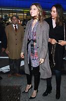 NEW YORK, NY February 12: Jessica Biel at Good Morning America in New York City on February 12, 2018. <br /> CAP/MPI/RW<br /> &copy;RW/MPI/Capital Pictures