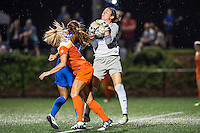 Allston, MA - Wednesday Aug. 31, 2016: Denise O'Sullivan, Kylie Strom, Jami Kranich during a regular season National Women's Soccer League (NWSL) match between the Boston Breakers and the Houston Dash at Jordan Field.