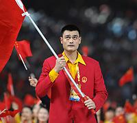 Yao Ming portabandiera della Cina<br /> Pechino - Beijing 8/8/2008 Olimpiadi 2008 Olympic Games<br /> The Opening ceremony for the XXIX Olympic games.<br /> Cerimonia d'apertura delle Olimpiadi di Pechino 2008<br /> Foto Andrea Staccioli Insidefoto