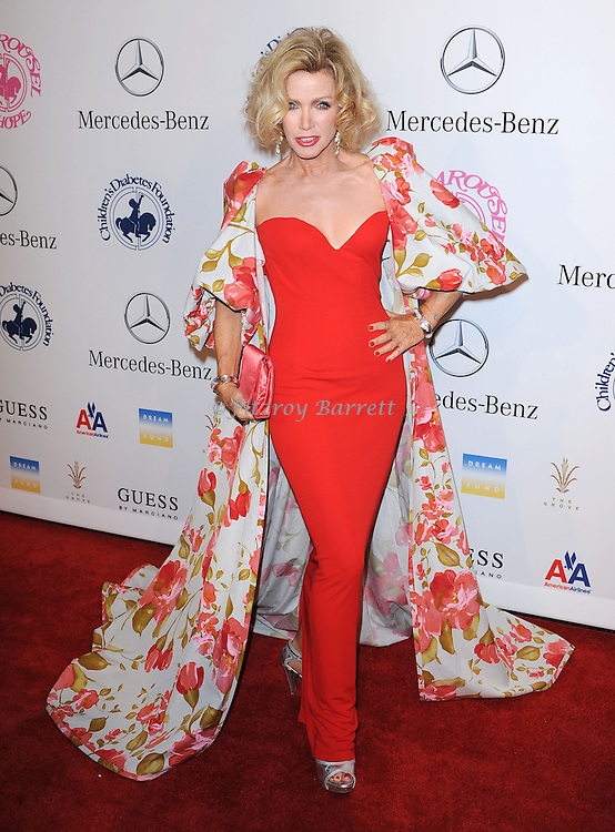 Donna Mills at The 26th Carousel of Hope Gala held at The Beverly Hilton Hotel, Beverly Hills  CA. October 20, 2012.