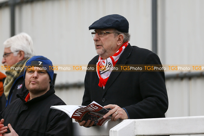 Woking fans ahead of Woking vs Watford, Emirates FA Cup Football at The Laithwaite Community Stadium on 6th January 2019