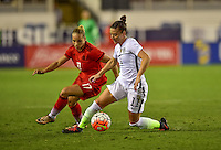 Boca Raton, FL. - March 9, 2016: The U.S. Women's National team take on Germany in the 2016 SheBelieves Cup at FAU Stadium.
