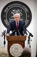 First Minister for Wales, Carwyn Jones speaks to the media