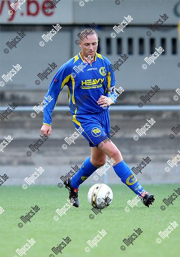2011-07-27 / Voetbal / seizoen 2011-2012 / SC Merksem / Kenny Vannuten..Foto: mpics