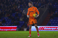 AFC Wimbledon's goalkeeper George Long during the Sky Bet League 1 match between Oldham Athletic and AFC Wimbledon at Boundary Park, Oldham, England on 21 November 2017. Photo by Juel Miah/PRiME Media Images