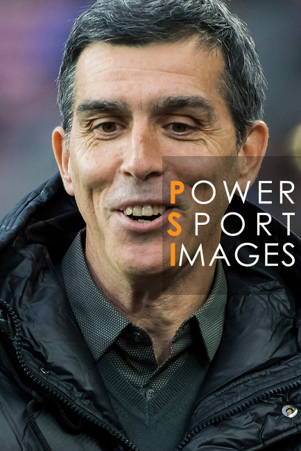 Manager Juan Ramon Lopez Muniz of Levante UD prior to the La Liga 2017-18 match between FC Barcelona and Levante UD at Camp Nou on 07 January 2018 in Barcelona, Spain. Photo by Vicens Gimenez / Power Sport Images