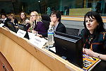 BRUSSELS - BELGIUM - 15 November 2012 -- European Training Foundation (ETF) conference on - Towards excellence in entrepreneurship and enterprise skills. -- Good practice clinics - Training for women entrepreneurs - Chair: Olena Bekh, ETF - Good practices from Egypt, Sweden, Tajikistan and France. -- PHOTO: Juha ROININEN /  EUP-IMAGES.