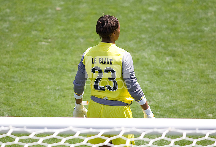 LA Sol's goalkeeper Karina LeBlanc. The Boston Breakers and LA Sol played to a 0-0 draw at Home Depot Center stadium in Carson, California on Sunday May 10, 2009.   .