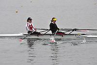 050 MarlowRC W.SEN.2x..Marlow Regatta Committee Thames Valley Trial Head. 1900m at Dorney Lake/Eton College Rowing Centre, Dorney, Buckinghamshire. Sunday 29 January 2012. Run over three divisions.