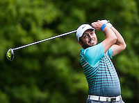 21.05.2015. Wentworth, England. BMW PGA Golf Championship. Round 1.  Edoardo Molinari [ITA] on the Par 4 3rd, during the first round of the 2015 BMW PGA Championship from The West Course Wentworth Golf Club