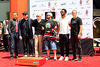 LOS ANGELES - July 18:  Todd McFarlane, Kevin Feige, Stan Lee, Kevin Smith, Chadwick Boseman, Clark Gregg at the Stan Lee Hand and Footprint Ceremony at the TCL Chinese Theater IMAX on July 18, 2017 in Los Angeles, CA