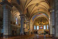Europe, France, Aquitaine, Pyrénées-Atlantiques, Béarn, Sarrance, Eglise Notre-Dame // Europe, France, Aquitaine, Pyrenees Atlantiques, Bearn, Sarrance, Sarrance Monastic Church