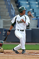 "University of South Florida Junior Carlin #3 during a game vs. the Miami Hurricanes in the ""Florida Four"" at George M. Steinbrenner Field in Tampa, Florida;  March 1, 2011.  USF defeated Miami 4-2.  Photo By Mike Janes/Four Seam Images"